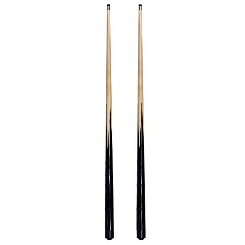 2 small 3ft 36 inch pool /snooker cues - ideal for tight spaces & youngsters from IQ Pool