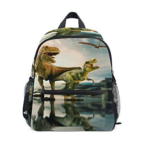 ISAOA Children's School Backpack,Unicorn with Headphone Kindergarten Preschool Toddler Boys/Girls Bookbag Lovely Schoolbags for Age 2-8 Children (Green) from ISAOA