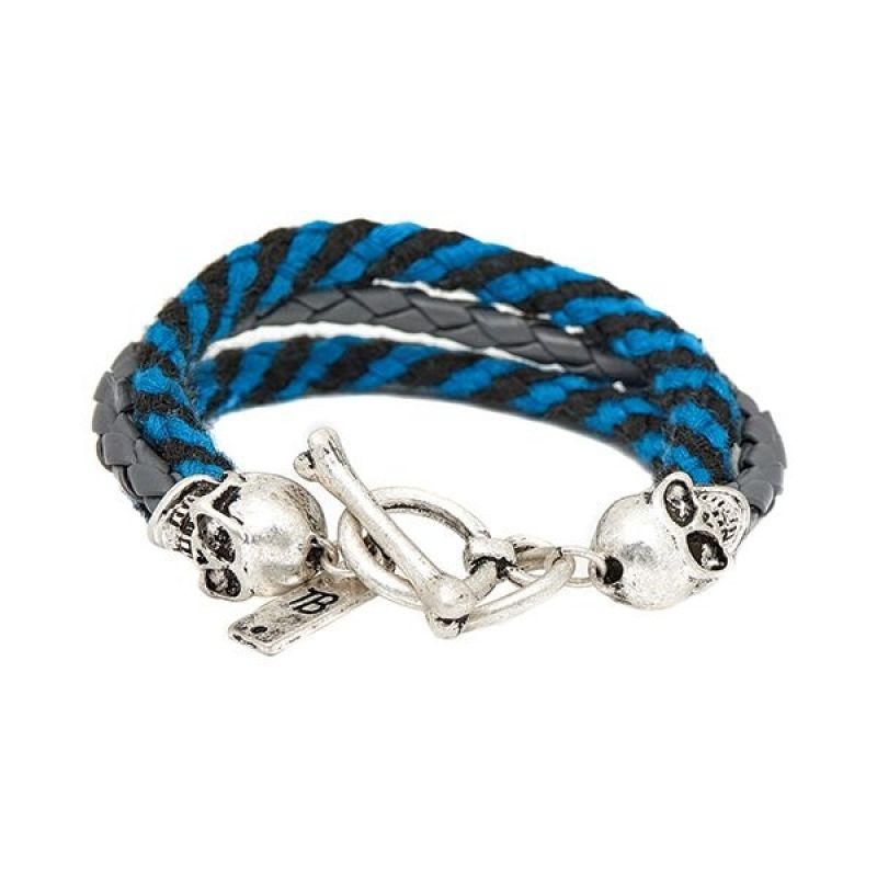 Icon Brand Base metal Band Of Skulls Bracelet from Icon Brand Jewellery
