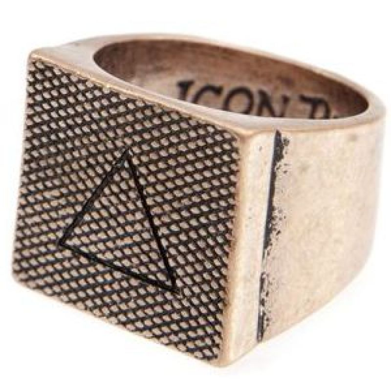 Icon Brand Base metal Lovell Ring Size Large from Icon Brand Jewellery