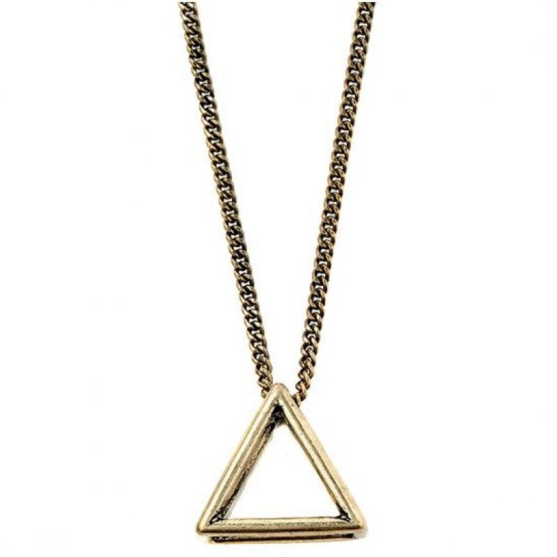 Icon Brand Base metal Triad Fixation Necklace from Icon Brand Jewellery