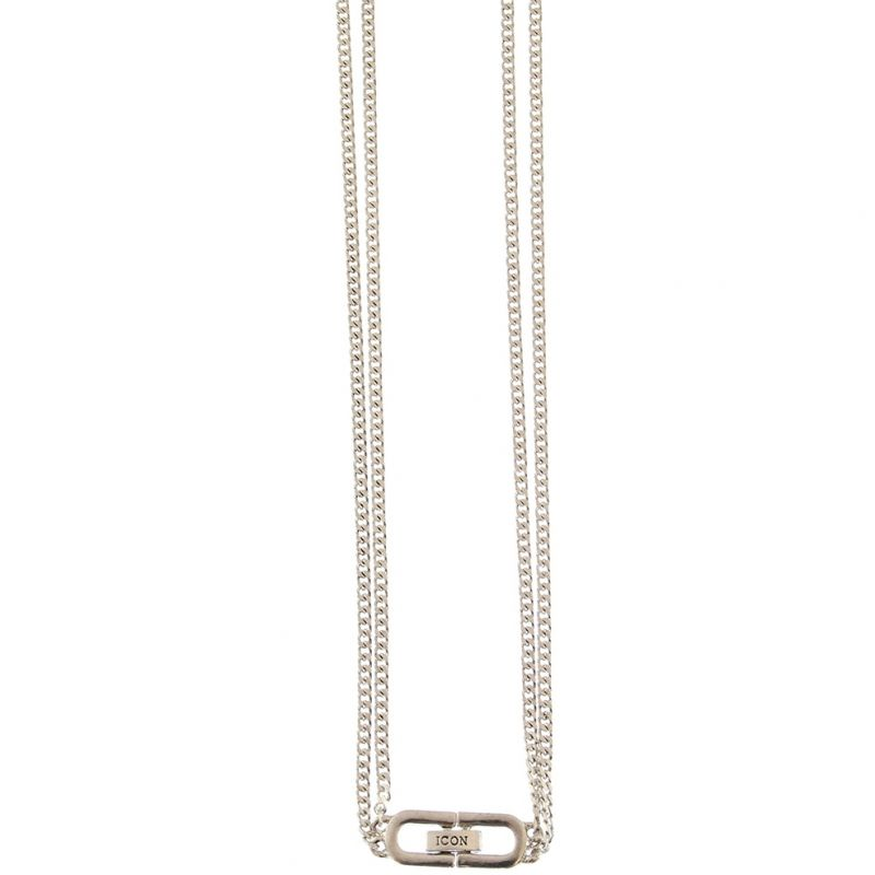 Icon Brand Double Curb Necklace from Icon Brand Jewellery