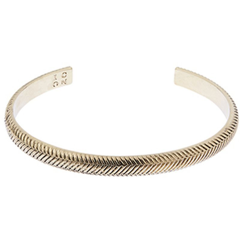 Icon Brand Herring Bone Cuff from Icon Brand Jewellery