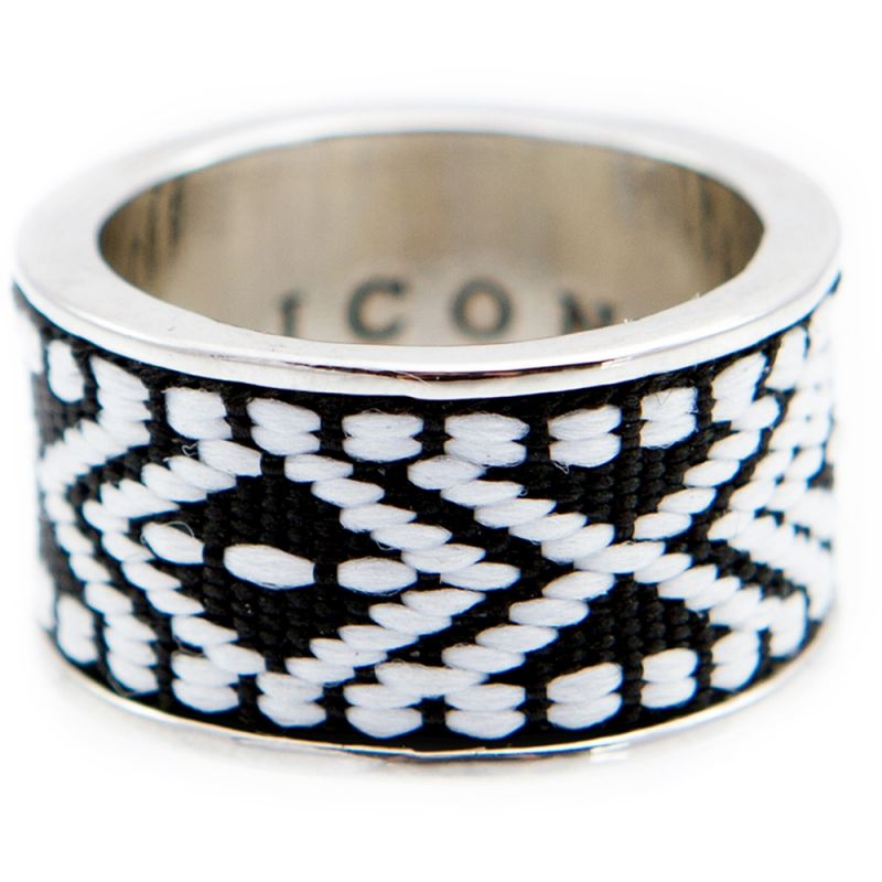 Mens Icon Brand Base metal Band Ring from Icon Brand Jewellery