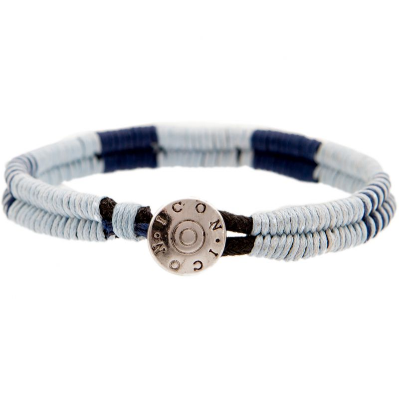Mens Icon Brand Base metal Cord Bracelet from Icon Brand Jewellery