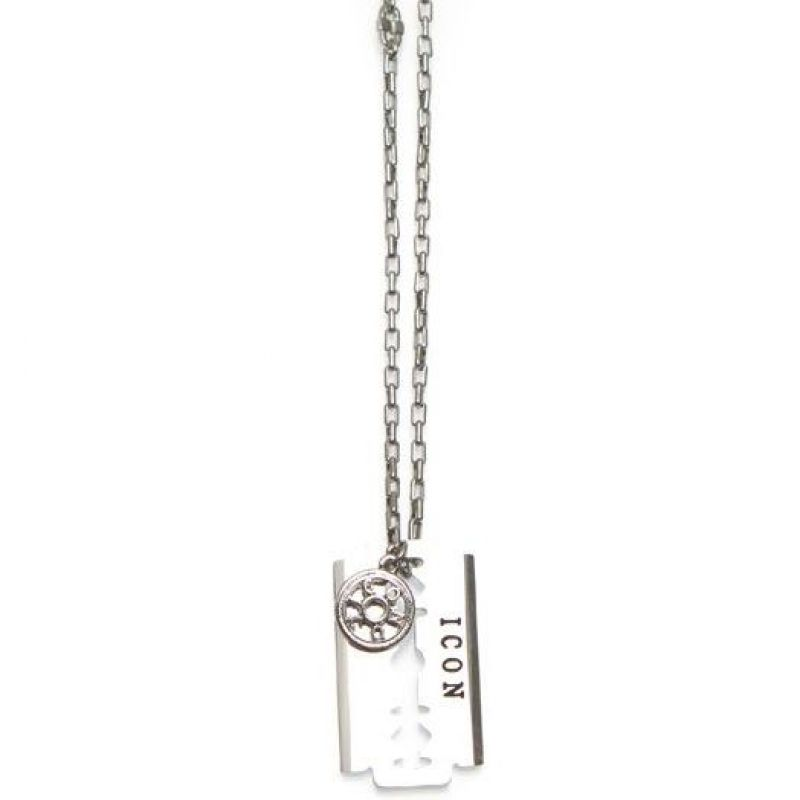 Mens Icon Brand Base metal Riley Necklace from Icon Brand Jewellery