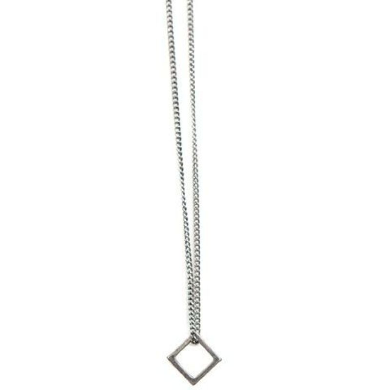 Mens Icon Brand Base metal Time Squared Necklace from Icon Brand Jewellery