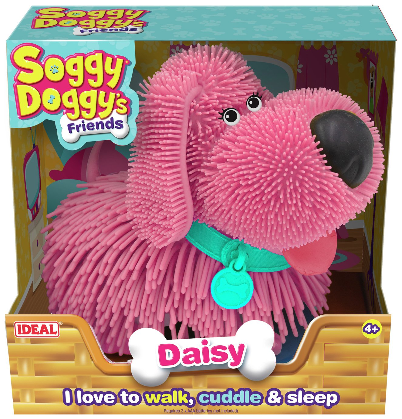 Ideal Soggy Doggy Friends - Pink Daisy from Ideal