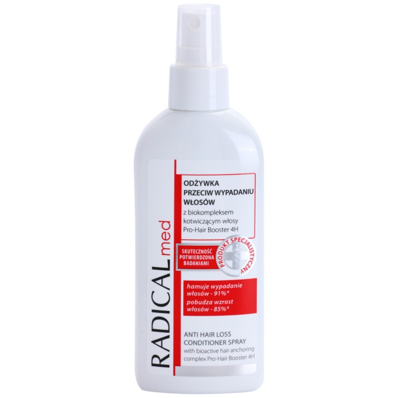 Ideepharm Radical Med Anti Hair Loss Spray Conditioner to Treat Hair Loss 200 ml from Ideepharm