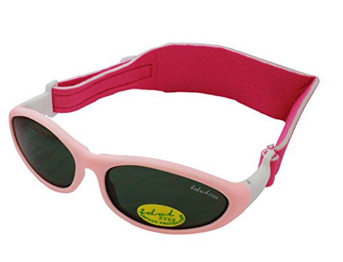 Baby Wrapz Sunglasses (Light Pink) from Idol Eyes