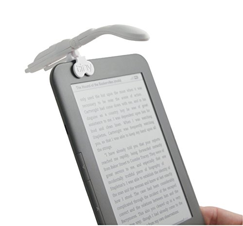 Really Tiny Booklight White E Reader Adapter from If