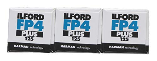 Ilford FP4+ 120 Roll 3 Pack from Ilford