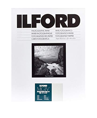 "Ilford Multigrade IV RC Deluxe 5"" x 7"" 100 Sheets Pearl Paper from Ilford"