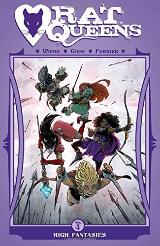 Rat Queens Volume 4: High Fantasies from Image Comics