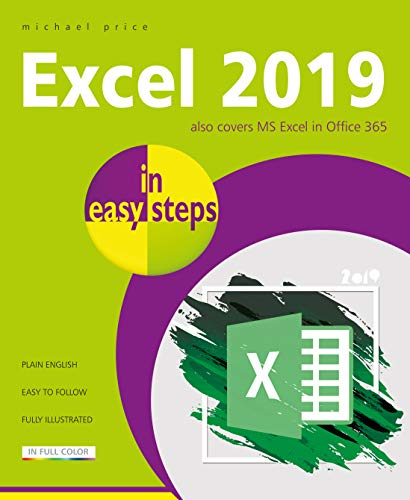 Excel 2019 in easy steps from In Easy Steps Limited