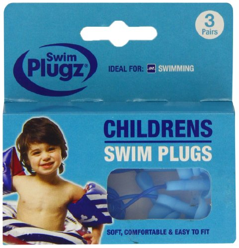 Swim 1 Pair Plugz Child Swimming Earplugs - Pack of 1 from In The Swim