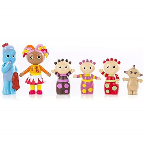 Kids In The Night Garden Figurines Gift Box with carry handle containing 6 Characters, up to 10cm tall, Toddler Girl Toys and Toddler Boy Toys 1648 from In the Night Garden