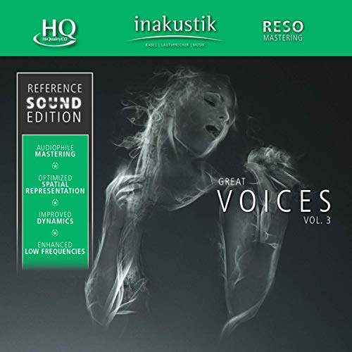 Great Voices, Vol. III (HQCD) from INAKUSTIK