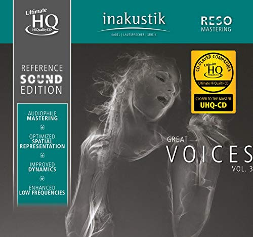 Great Voices, Vol. III (U-HQCD) from INAKUSTIK