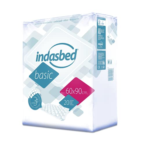 Indasbed Basic Bed Protector, 60 x 90 cm - 20 Protectors from Indasbed
