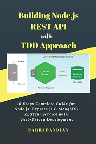 Building Node.js REST API with TDD Approach: 10 Steps Complete Guide for Node.js, Express.js & MongoDB RESTful Service with Test-Driven Development from Independently Published