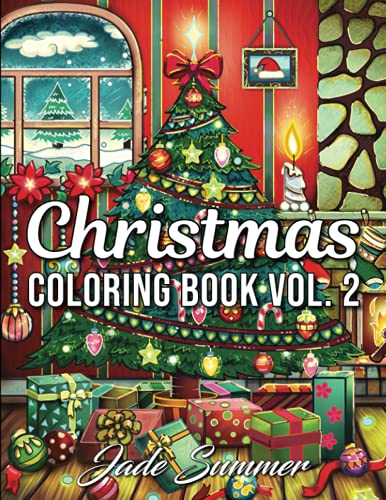 Christmas Coloring Book: An Adult Coloring Book with Fun, Easy, and Relaxing Coloring Pages (Volume 2) from Independently published