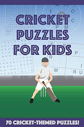Cricket Puzzles for Kids from Independently published