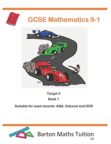 Target 4 Book 1: GCSE Mathematics 9-1 (Barton Maths Tuition) from Independently published