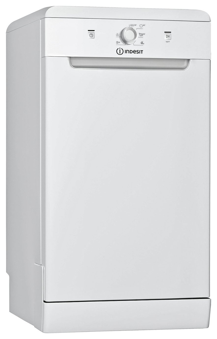 Indesit DSFE1B10 Slimline Dishwasher - White from Indesit