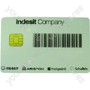 Indesit Group Smart card single use only non returnable Spares from Indesit