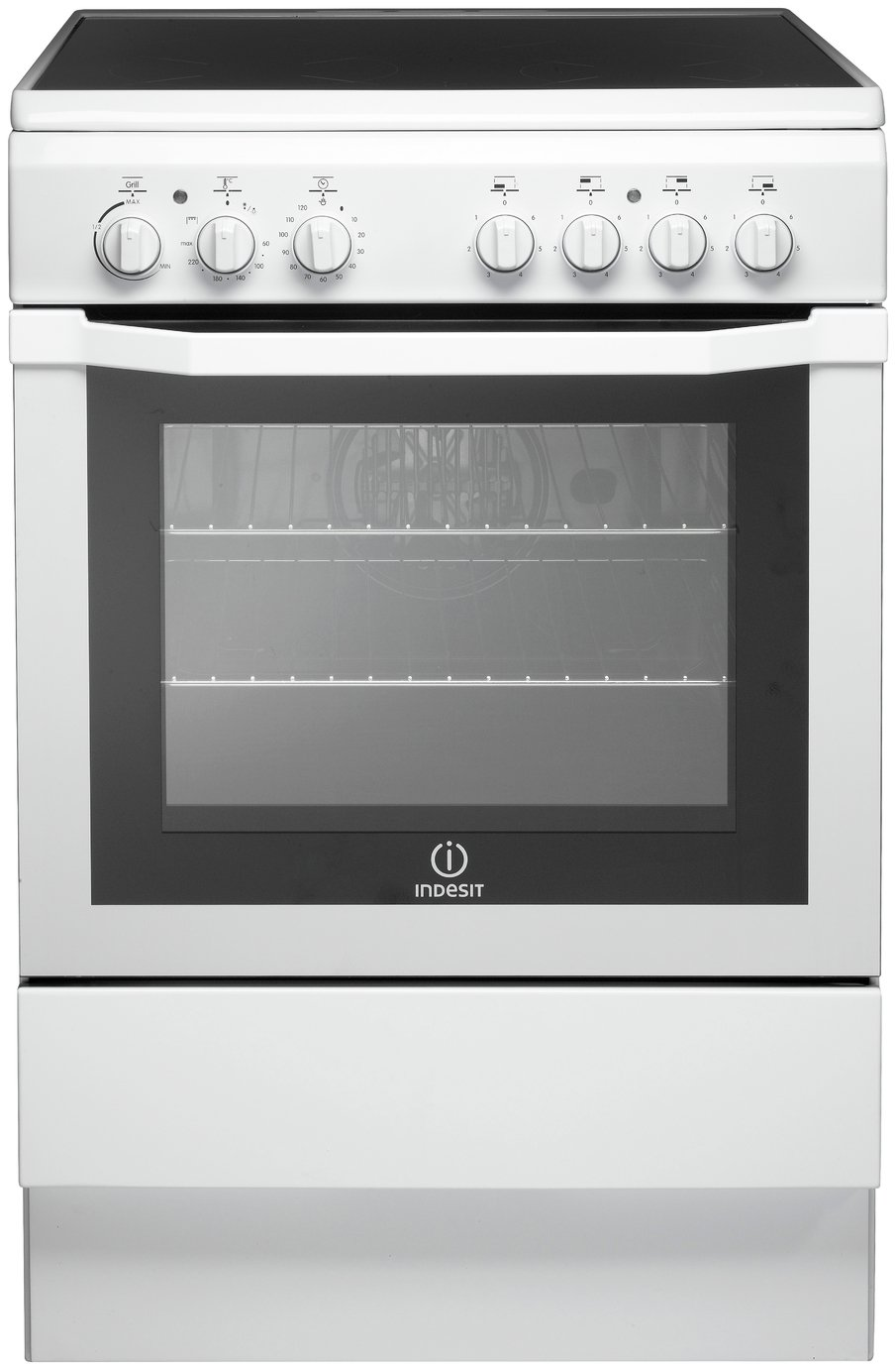 Indesit I6VV2AW/ Freestanding Cooker - White from Indesit