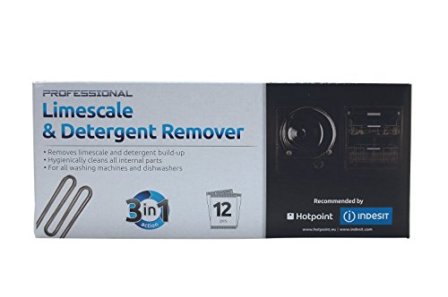 Indesit Washing Machine Limescale & Detergent Remover. Genuine part number C00308432 from Indesit