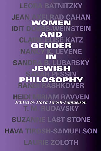 Women and Gender in Jewish Philosophy (Jewish Literature and Culture) from Indiana University Press (IPS)