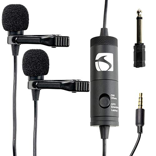Industry Standard Sound ISSLM200 Lavalier Microphone for Iphone and Android, Smartphones, Tablets and Nikon Cameras from Industry Standard Sound