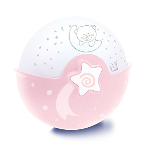 Infantino Soothing Light and Projector, table top projector and night light, pink from Infantino