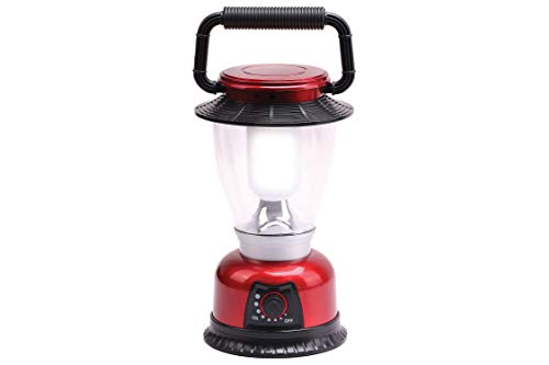 Infapower 6 LED Outdoor Lantern, Metal, Red from Infapower