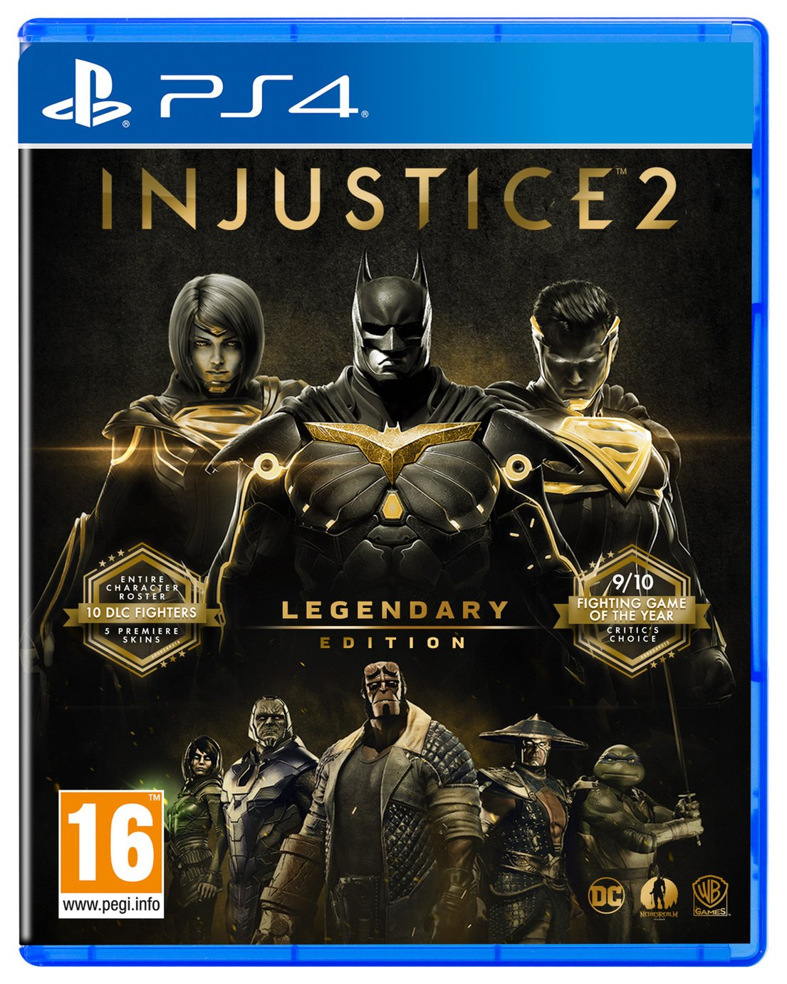 Injustice 2 Legendary Edition PS4 Game from Injustice