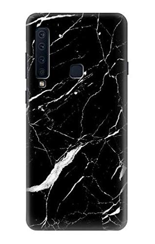 Black Marble Graphic Printed Case Cover For Samsung Galaxy A9 (2018), A9 Star Pro, A9s from Innovedesire
