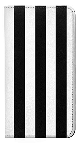 Black and White Vertical Stripes PU Leather Flip Case Cover For Note 8 Samsung Galaxy Note8 from Innovedesire