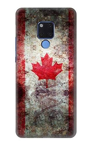 Canada Maple Leaf Flag Texture Case Cover For Huawei Mate 20 X from Innovedesire