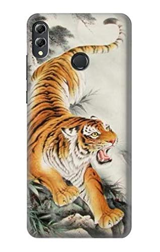 Chinese Tiger Brush Painting Case Cover For Huawei Honor 8X Max from Innovedesire