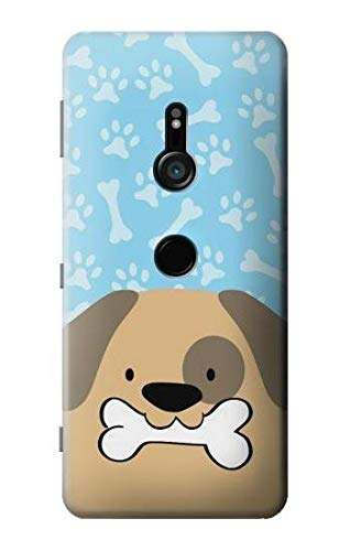 Cute Dog Paws Bones Cartoon Case Cover For Sony Xperia XZ3 from Innovedesire