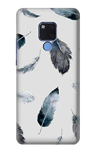 Feather Paint Pattern Case Cover For Huawei Mate 20 X from Innovedesire