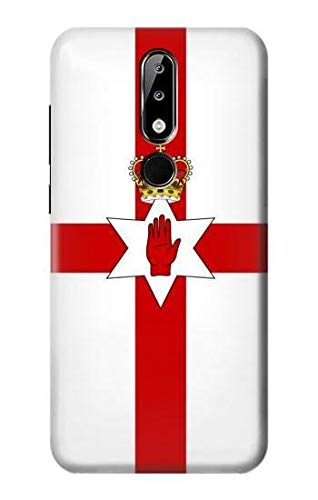 Flag of Northern Ireland Case Cover For Nokia X5, Nokia 5.1 Plus from Innovedesire