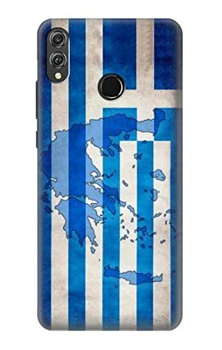 Greece Map Football Soccer Flag Case Cover For Huawei Honor 8X from Innovedesire