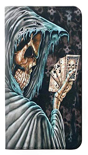 Grim Reaper Death Poker PU Leather Flip Case Cover For Note 8 Samsung Galaxy Note8 from Innovedesire