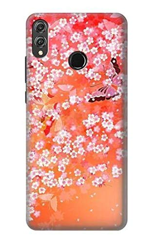 Japanese Kimono Style Flower Pattern Case Cover For Huawei Honor 8X from Innovedesire