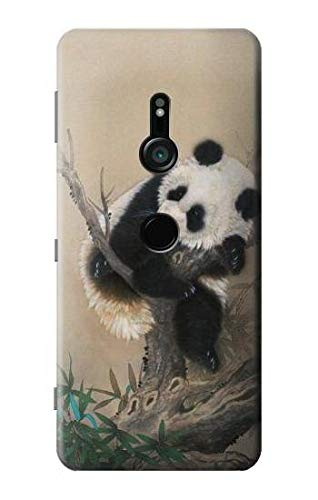 Panda Fluffy Art Painting Case Cover For Sony Xperia XZ3 from Innovedesire