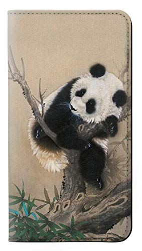 Panda Fluffy Art Painting PU Leather Flip Case Cover For Samsung Galaxy S8 from Innovedesire