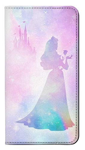 Princess Pastel Silhouette PU Leather Flip Case Cover For Samsung Galaxy S7 from Innovedesire